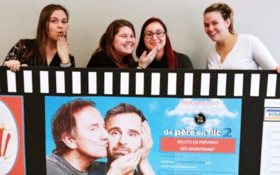 Afin d'amasser des fonds pour la fondation du CEGEP de Sorel-Tracy et l'organisme Le Vaisseau d'Or: Soirée Cinéma