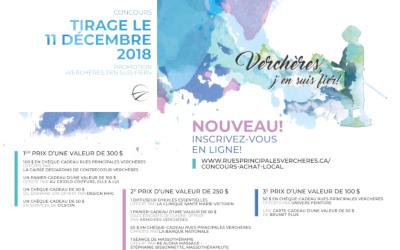 Deuxième édition de la promotion « Verchères, j'en suis fier! » avec un concours entièrement sur le Web