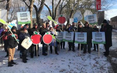 Garde-manger en danger: plus de 550 marcheurs de la Montérégie pour soutenir l'agriculture d'ici