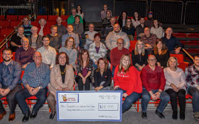 L'Opération Nez rouge Sorel-Tracy remet un montant record de 28 000 $ à la Fondation du Cégep de Sorel-Tracy!