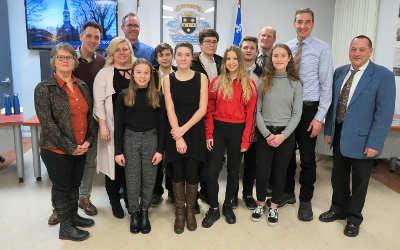 La Municipalité de Verchères honore ses jeunes athlètes verchèrois