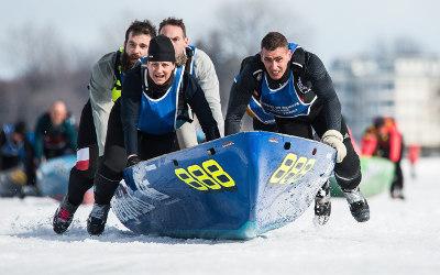 La Course de canot à glace Sorel-Tracy revient cette année pour une 5e édition!