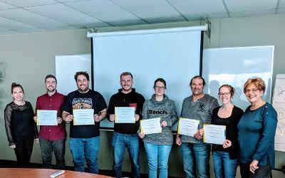 Bien gérer mon entreprise agricole: un premier groupe termine sa formation au Service aux entreprises du Cégep de Sorel-Tracy!