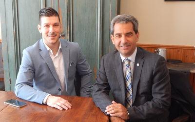En tournée avec Pierre Paul-Hus: Mathieu Daviault veut aller travailler pour la circonscription à Ottawa