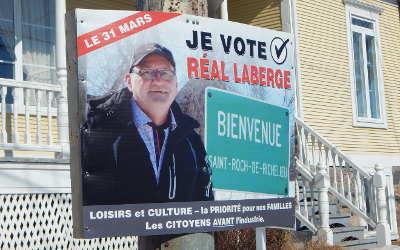 Course à la mairie de Saint-Roch-de-Richelieu: Réal Laberge veut un référendum