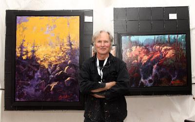 Les Dimanches culturels à la Vieille caserne reçoivent l'artiste-peintre de Verchères Michel Monett