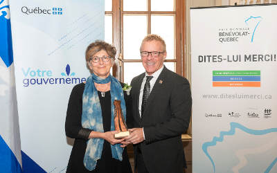 22e édition des prix Hommage bénévolat-Québec: le gouvernement du Québec souligne la précieuse contribution de bénévoles de la région de la Montérégie