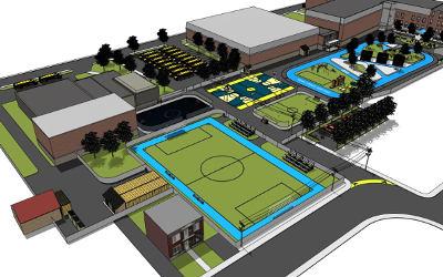 Varennes: une nouvelle cour pour le Collège Saint-Paul