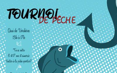 Maison des Jeunes de Verchères: Tournoi de pêche pour les 6 à 17 ans !