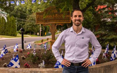 Parti Québécois de Borduas: Cédric Gagnon-Ducharme élu président du nouveau conseil éxécutif