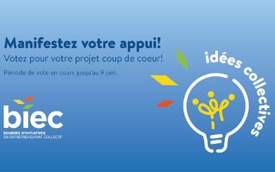 Appuyez les projets collectifs de votre région!