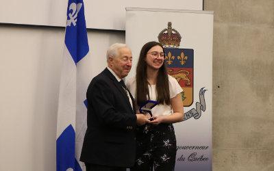 Commission scolaire des Patriotes: cinq élèves reçoivent la médaille du Lieutenant-gouverneur pour la jeunesse
