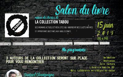 L'Adosphère – Maison des Jeunes de Verchères: Salon du livre sans tabou à Verchères