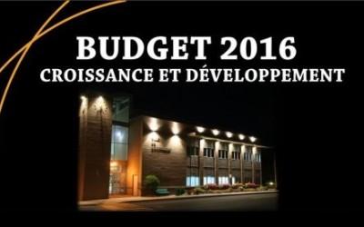Contrecoeur adopte son budget 2016
