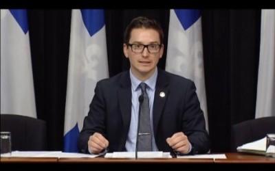 Scandale de l'argent sale: « Nous demandons au Parti libéral du Québec de placer cet argent en fiducie » -Simon Jolin-Barrette