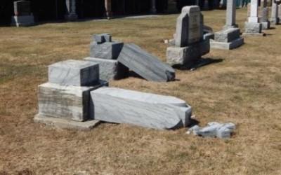 Verchères: vandalisme déplorable au cimetière