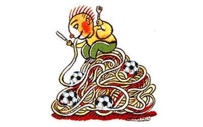 Soccer Saint-Antoine: Souper spaghetti