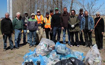 Saint-Antoine: grand nettoyage réussi grâce à des bénévoles enthousiastes!