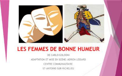Théâtre de St-Antoine-sur-Richelieu: Les femmes de bonne humeur