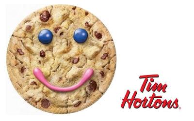 Retour des biscuits sourires de Tim Hortons pour les MDJ de la région