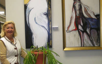 Verchères: Marie Nichols expose à la mairie
