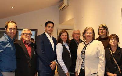 Plus de 50 personnes à l'inauguration du nouveau centre d'affaires de Courtiers Multi Plus inc.