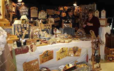 Place des artisans et Foire commerciale de Verchères: réunis pour le plus grand bonheur des visiteurs de la région !