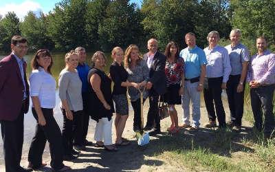 Nature-Action Québec: un investissement de 1 250 000 $ pour la création d'un site d'interprétation de la nature