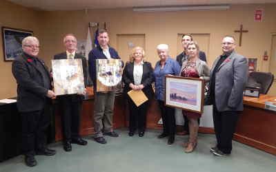 Contrecoeur: trois nouvelles acquisitions pour la collection permanente d'œuvres d'art de la Ville