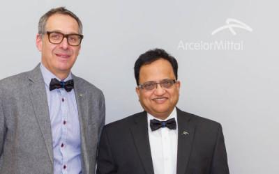 Pour la lutte contre le cancer de la prostate: le nœud papillon à l'honneur chez ArcelorMittal
