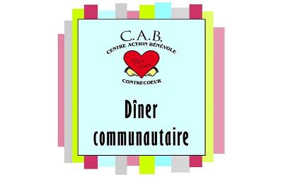 CAB de Contrecoeur: les dîners communautaires sont de retour !