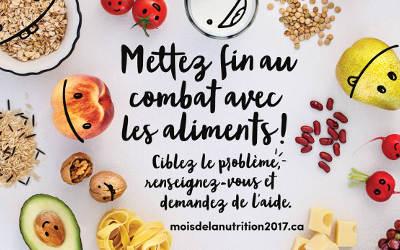 Mars, mois de la nutrition!