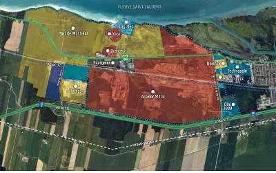 Territoire de Contrecoeur : mesures strictes de précaution relativement à la présence de nitrate d'ammonium