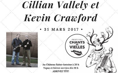 Chants de Vielles à l'Année: spectacle de Cillian Vallely et Kevin Crawford