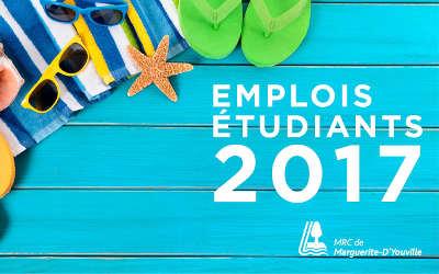 MRC de Marguerite-D'Youville: emplois d'été !