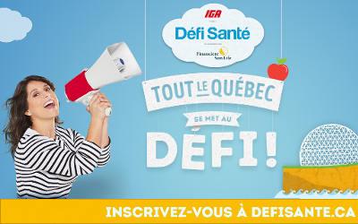 Défi Santé, municipalités et familles: Saint-Roch-de-Richelieu participe
