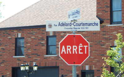 Chronique toponymique: la rue Adélard-Courtemanche