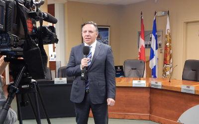 Pandémie de COVID-19: le gouvernement du Québec mobilisé plus que jamais, assure François Legault