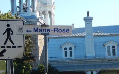 Chronique toponymique: la rue Marie-Rose