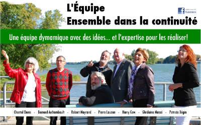 Saint-Antoine-sur-Richelieu: les candidats de L'Équipe Ensemble pour la continuité répondent à vos interrogations