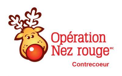 Toujours besoin de bénévoles pour Opération Nez rouge Contrecoeur