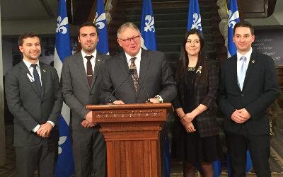 Le président de l'Assemblée nationale annonce la création du Cercle des jeunes parlementaires