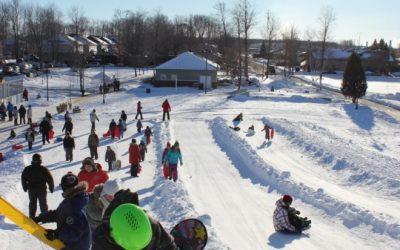 Contrecoeur: Plaisirs d'hiver, le plaisir de jouer dehors!