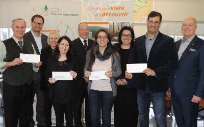 MRC de La Vallée-du-Richelieu: plus de 90 000 $ investis dans le développement régional