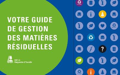 Votre guide de gestion des matières résiduelles: mieux gérer vos matières en quelques clics