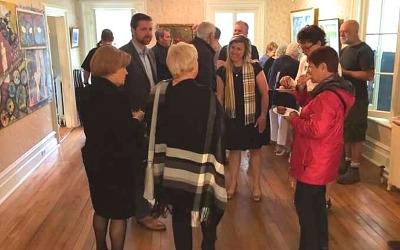 Déjeuner de la mairesse: discussions et échanges au menu