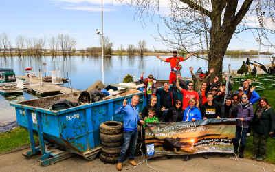 Berges du fleuve Saint-Laurent: la Ville de Contrecœur, ses partenaires et plusieurs citoyens feront le ménage!