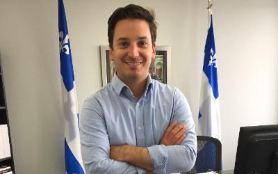 Élections provinciales 2018: Simon Jolin-Barrette mise sur une campagne positive