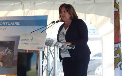La MRC de Marguerite-D'Youville rend hommage à la PDG de l'Administration portuaire de Montréal, Mme Sylvie