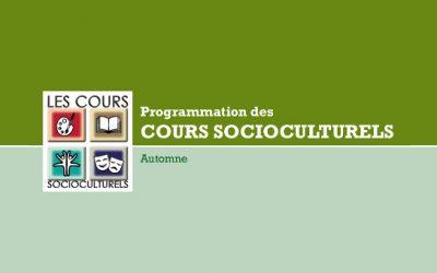 Cours socioculturels à Contrecoeur: le temps des inscriptions
